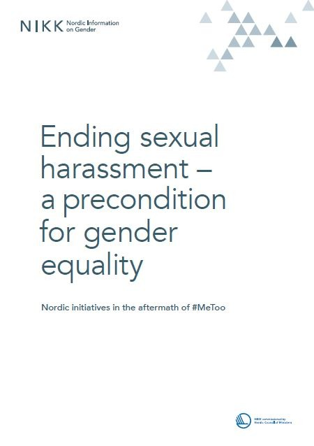 Ending sexual harassment - a precondition for gender equality