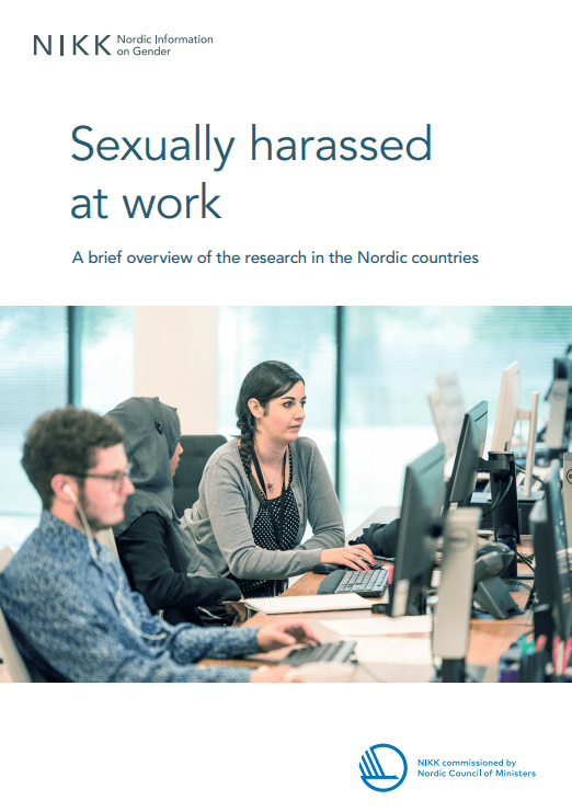 Cover for Sexually harassed at work