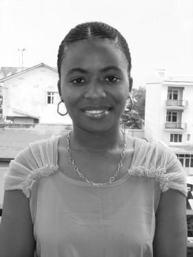 Douce Namwezi. Press photo