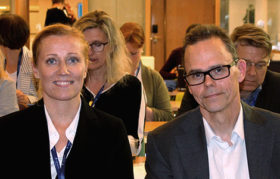 Katarina Murto from the Finnish Confederation of Salaried Employees STTK, and Markus Äimälä, the Director Confederation of Finnish Industries EK, summed up after the Future of Work conference