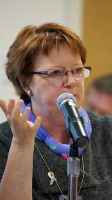 Kristín Ástgeirsdóttir. Photo: Cia Pak (norden.org)