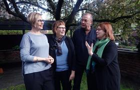 The Nordic network: Mari Teigen (Norwegian Institute for Social Research), Ann-Dorte Christensen (Aalborg University) (Norwegian Institute for Social Research, Oslo), Ulf Mellström (Karlstad University) and Liisa Husu (Örebro University).